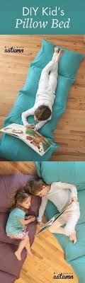 pillow bed for kids cute diy baby gifts