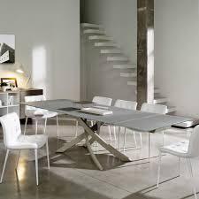 Esszimmertisch Dunkles Holz Artistico Tisch Mit Gekreuzten Beinen Von Bontempi Version Mit