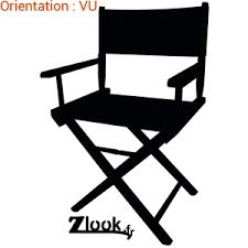 chaise de cinéma sticker chaise de réalisateur atomistickers fr