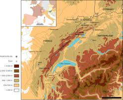 Swiss Alps Map A Taxonomic Review Of The Late Jurassic Eucryptodiran Turtles From