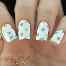 copycat claws 40 great nail art ideas mint green