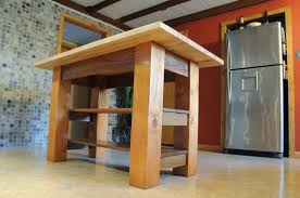 Simple Kitchen Island Ideas by Simple Kitchen Ideas With Maple Wood Rack Kitchen Island