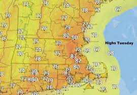 forecast summer like weather lingers well into fall wbur news