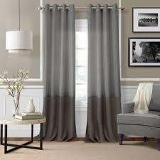 Grey Sheer Curtains Buy Sheer Grey Window Panels From Bed Bath Beyond
