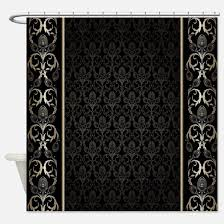 Red And Gold Damask Curtains Elegant Shower Curtains Cafepress