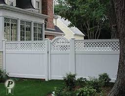 White Backyard Fence - white vinyl fence with gate google search yard ideas