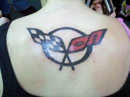 corvette emblem on back u2013 tattoo picture at checkoutmyink com