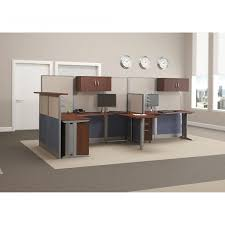 Bush Office Desks Bush Business Furniture Office In An Hour 65w X 65d L Workstation
