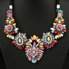 multi color necklace images Multicolor necklace choker necklace jpg