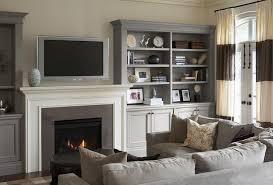Built In Bookshelves Fireplace by Living Room With Built In Bookcases Flanking Fireplace