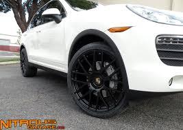 porsche cayenne black rims porsche cayenne 22 wheels nitrous garage s