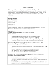 mechanical engineer resume example resume civil drafter senior