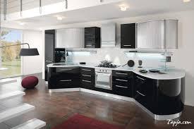 black white kitchen ideas stunning italian modern kitchen design with black gloss backsplash