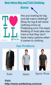Big Men Clothing Stores Ppt Best Mens Big And Tall Clothing Stores Powerpoint
