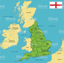 Europe Capitals Map by Highly Detailed Political Map Of England With Regions And Their