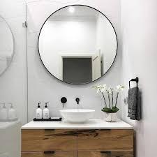 tips for choosing bathroom mirror home interior design