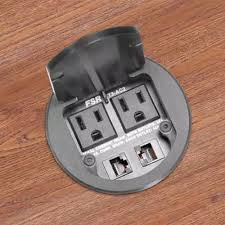Office Desk Power Sockets Built In Desk Power And Data Outlet Outlet In Table Pinterest