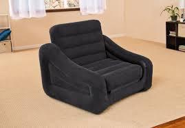 Inflatable Mattress Sofa Bed Bedroom Comfortable Sleeping Solution With Intex Queen Sleeper