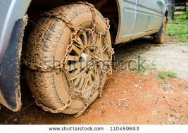 Off Road Tire Chains Close Off Road Car Tire Chain Stock Photo 110459693 Shutterstock