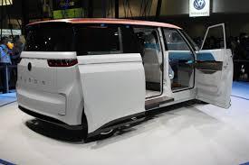 vw minivan volkswagen budd e concept reignites your hippie van dreams