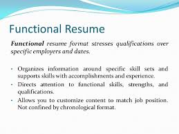 Resume Functional Skills Presented By Konnect 4 Manpower Ppt Download