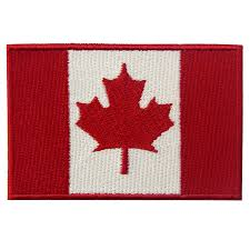 amazon com embtao canada flag embroidered patch canadian maple