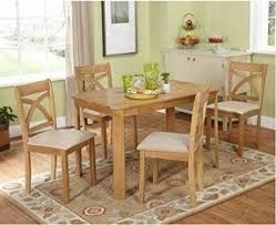 4 Seat Dining Table And Chairs Dining Table With Chairs And Bench Foter