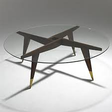 gio ponti compass coffee table by gio ponti on artnet