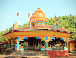 hindu l india goa querim february 20 2013 ajoba temple stock photo image