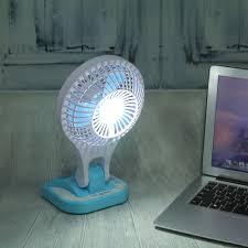 Desk Fan Small Vktevh Mini Usb Fan Small Led L Desk Fan Portable Air Cooling