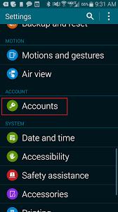 android remove account android removing an email calendar account