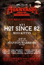 phantasm 2017 halloween at the armory u0027the hall of mirrors u0027 with