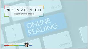 online reading ppt 60315 free powerpoint online reading ppt by
