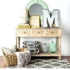 accent table for foyer foyer table decor musicyou co
