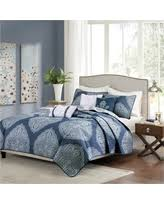Blue Quilted Coverlet Here U0027s A Great Deal On Audra Large Medallion Reversible Quilted