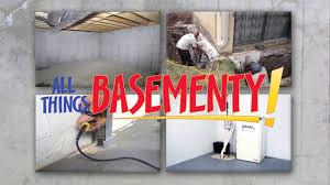 wet basement repair in calgary doug lacey u0027s basement systems