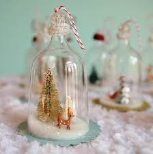 tutorial to make vintage inspired glass bell jar ornaments make