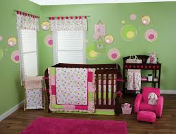 Pink And Lime Green Bedroom - mesmerizing pink and lime green baby bedding fabulous home