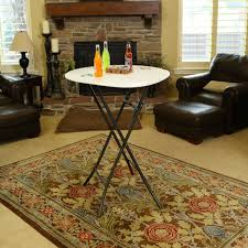 Lifetime Bistro Table 33 Inch Bistro Table Almond 80362