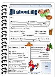 writing giving personal information esl worksheets of the day