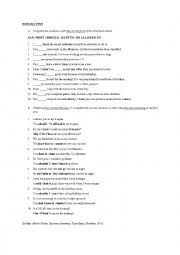 english worksheets modal worksheets page 91