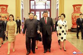 north korea and china show unity after talks