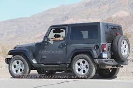 jeep blue grey 2018 jeep wrangler mules spied testing autoguide com news
