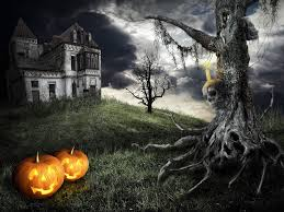 happy halloween theme mystical tree on the background of a u2026 flickr