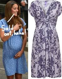 second maternity clothes kate middleton s second post pregnancy dress is already sold out