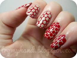 nail art red how you can do it at home pictures designs nail
