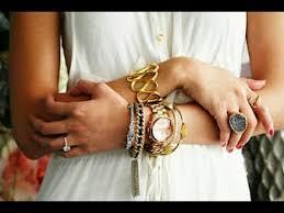 stacking bracelets how to rock arm bracelet stacking style fashion