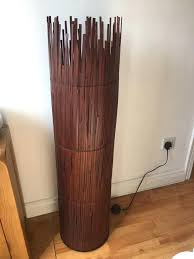 Bamboo Floor Lamp Floor Lamp Bamboo Floor Lamp As New With Led Bulbs Lamps