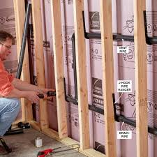28 how to run plumbing plumbing can i avoid the slab and