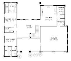 house plan 1603 double master bedroom leaflet homes plans house plan 1603 main level